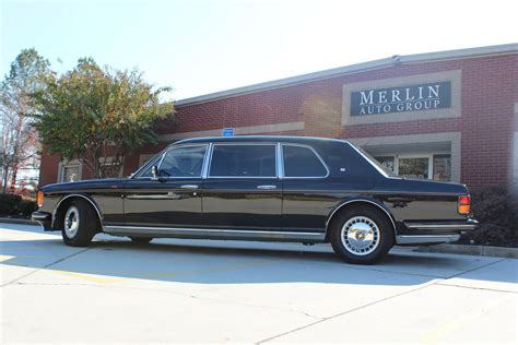 limousine rolls royce used 1993 rolls royce silver spur ii touring limousine