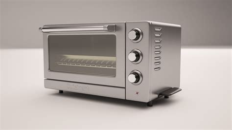 Toaster Oven Stainless Steel Interior Stainless Steel Toaster Oven 3d Max