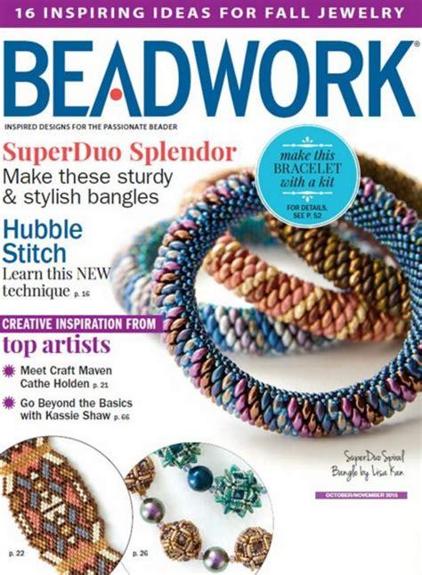 jewelry magazines magazines beadwork jewelry stringing easy