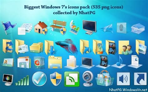icon themes for windows 7 windows 7 icons for vista xp