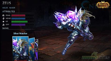 fortnite zeus top 12 heroes evolved characters onrpg