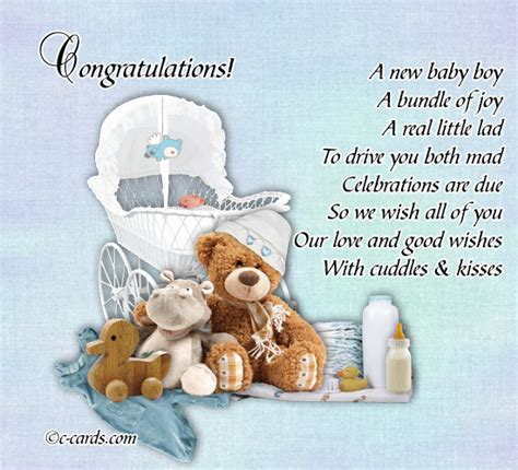 New Born Baby Greeting Cards