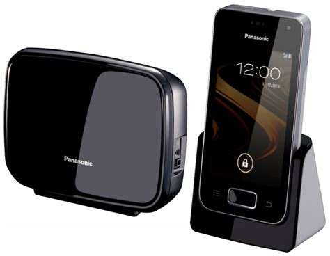 house phone panasonic announces android powered home phone for european markets talkandroid com
