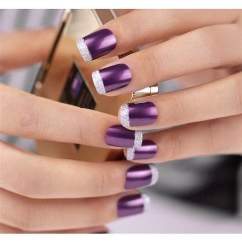 light tips pretty manicures that show your for purple