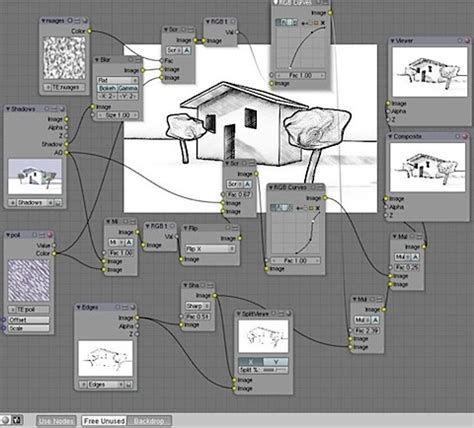 blender 3d tutorial architecture npr rendering for architecture without external renders