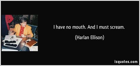 Pdf Ellison I No by I No And I Must Scream