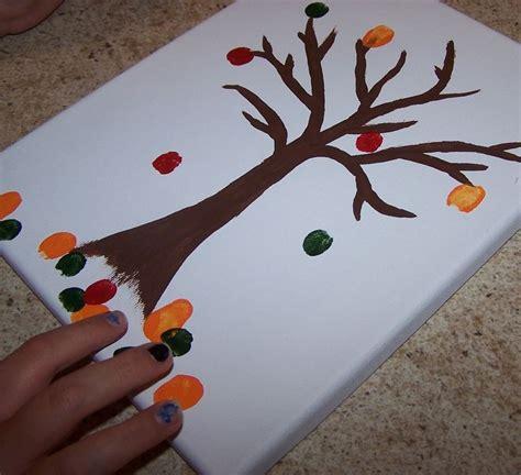 diy fall crafts diy fall fingerprint craft seasons craft