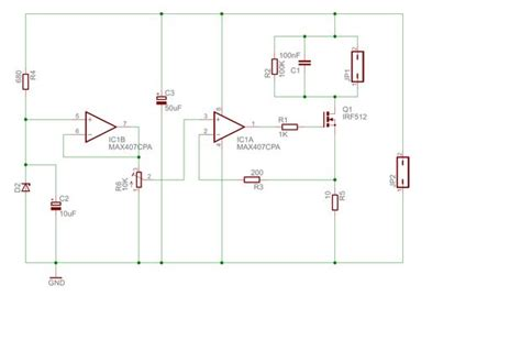 laser diode circuit design laser diode driver circuit diagram efcaviation
