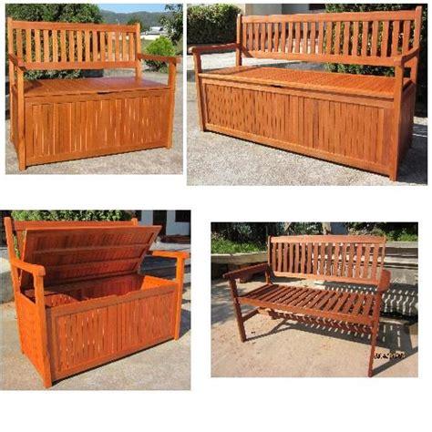 wooden garden storage bench hardwood wooden garden storage bench 2 and 3 seater wood bench outdoor patio ebay