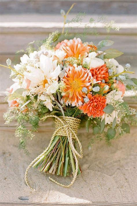fall flowers wedding 15 beautiful fall wedding bouquets mon cheri bridals