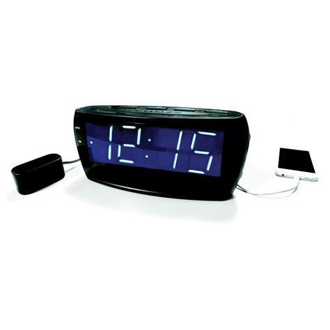 Alarm Clock Pillow Shaker by Krown Vibealert 2 0 Alarm Clock W Bed Shaker Alarm