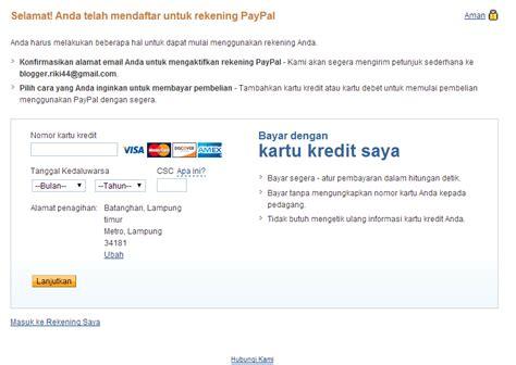 membuat akun paypal tapi tidak punya kartu kredit cara membuat akun paypal tanpa vcc