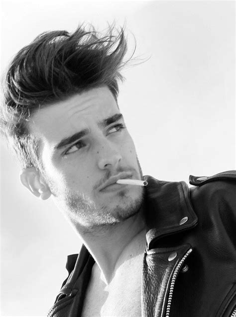 bad boy hairstyles luis batalha hair of epicness pinterest awesome