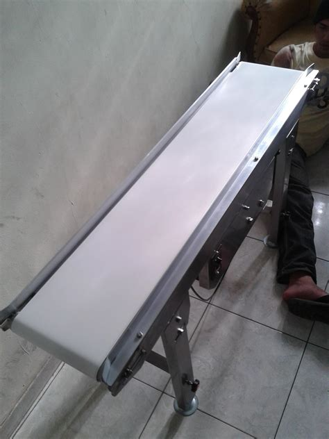 Plastik Sealer Mini By Makmur Jaya jual flat belt conveyor sus 304 food grade harga murah