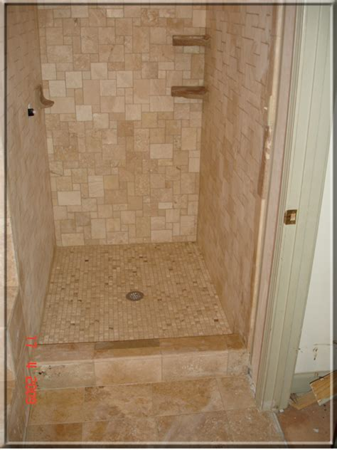 bathroom remodeling in alpharetta ga shower travertine