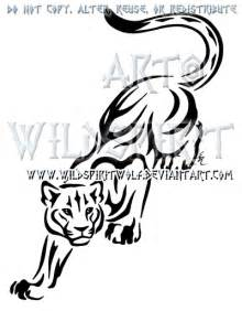 prowling panther tribal design by wildspiritwolf on deviantart