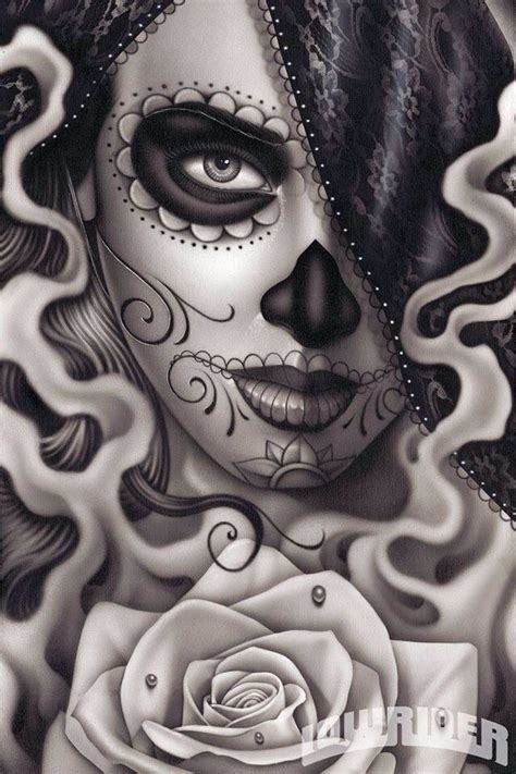 tattoo nightmares day of the dead 1000 ideas about lowrider art on pinterest live or die