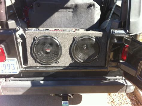 Subs For Jeep Wrangler Jeep Lj Subwoofers