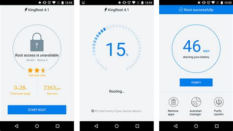 rooter apk tuto rooter smartphone ou sa tablette en un seul clic avec kingroot frandroid
