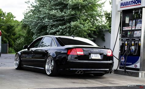 Audi A8 D3 Tuning by Stanced Audi A8 D3 2010 Rear