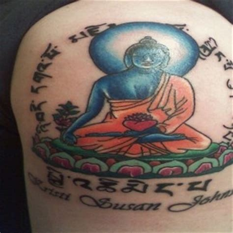 lotus land tattoo buddhist tattoos deep meaning the holy circle budhist