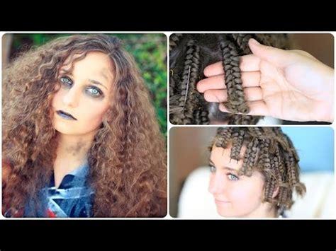 Zombie Cheerleader   Hair Pin Curls   Halloween Hairstyles