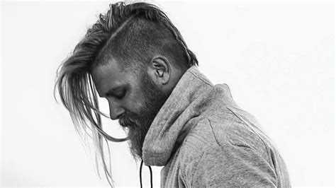 mohawk hairstyles ll eaving hair long at back of head 25 vivacious new mohawk hairstyles for men entertainmentmesh