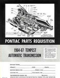 1964 1972 gto tempest parts id interchange manual 2 book set