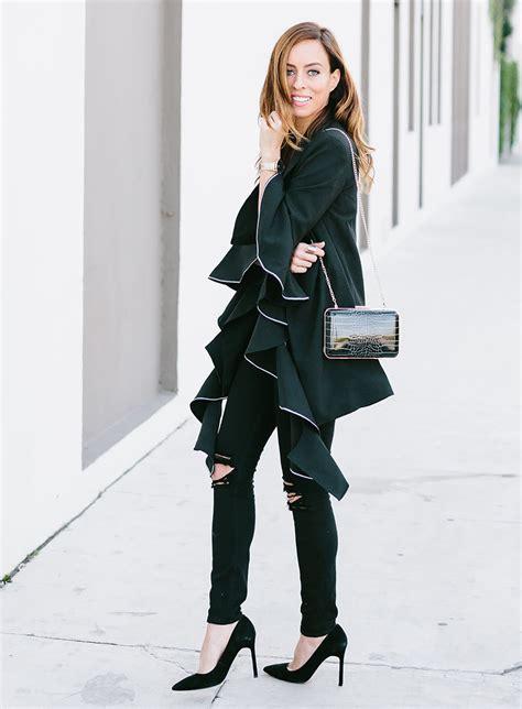 black winter six black winter ideas 2018 fashion trends