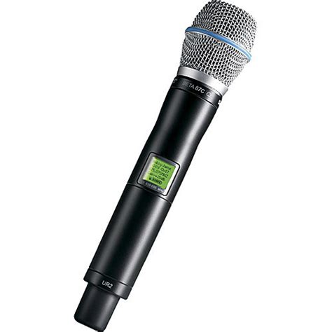 Wireless Microphone Shure Bisa Ubah Frequensi shure ur2 handheld wireless microphone transmitter