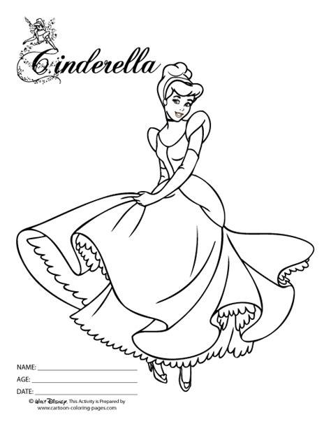 cinderella coloring pages pdf cinderella coloring pages