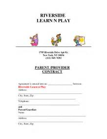 Daycare Termination Letter by Best Photos Of Day Care Rate Increase Acceptance Letter
