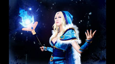 dota 2 cosplay wallpaper crystal maiden cosplay