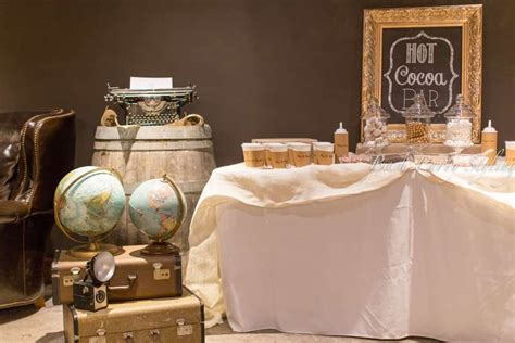 themes around love travel themed bridal shower world party ideas