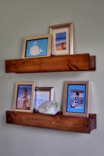 wall shelves and ledges white barn beam ledges diy projects