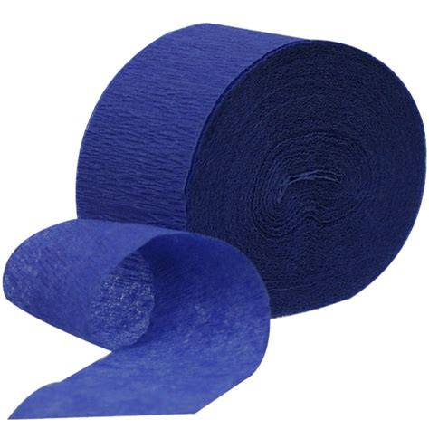 How To Make Crepe Paper Streamers - royal blue crepe paper streamer splendourparty