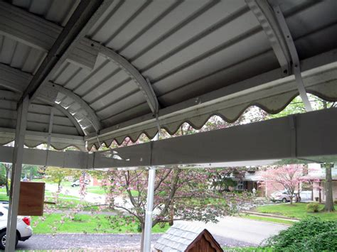 Awning Gutter gutter for awnings roofing contractor talk