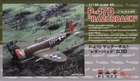 stevie blatz reviews 1 144 platz p 47d razorback model kit