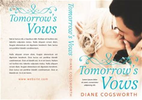 Premade Book Covers Wedding by Tomorrow S Vows Wedding Premade Book Cover For