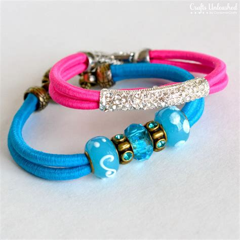neon bracelets how to make colorful bungee accessories