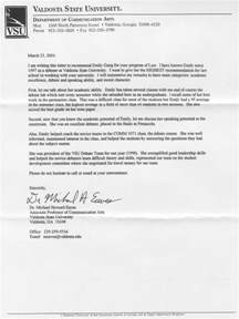 Letter Of Recommendation For Recent College Graduate Sle Letter Recommendation Employment Images Letter Sles Format