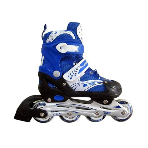 Sepatu Roda Inline Skate jual daily deals power superb inline skate sepatu roda biru harga kualitas