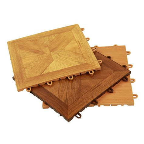 incstores wood loc modular floor tiles 12in x 12in