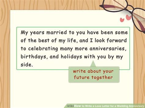 Wedding Anniversary Letter by How To Write A Letter For A Wedding Anniversary