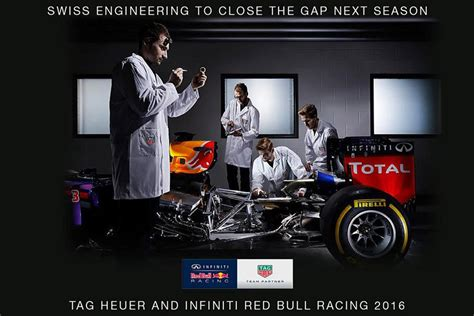 red bull formula  team   tag heuer branded renault
