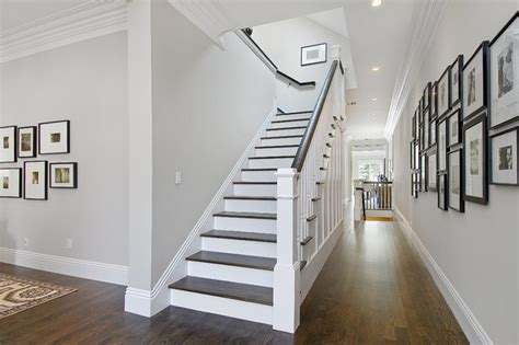 paint colors for hallways and stairs staircase and hallway traditional staircase san