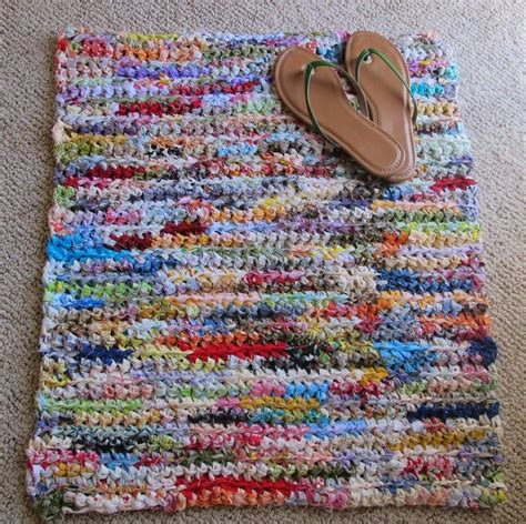 crochet rugs with fabric strips 10 best images about crocheted rugs on how to crochet quilt and hooks