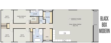 housing blueprints rectangle house plans alternate floor plan 2235 brookdale