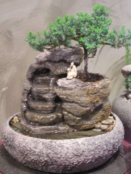 small fountain   bonsai ss natural creations