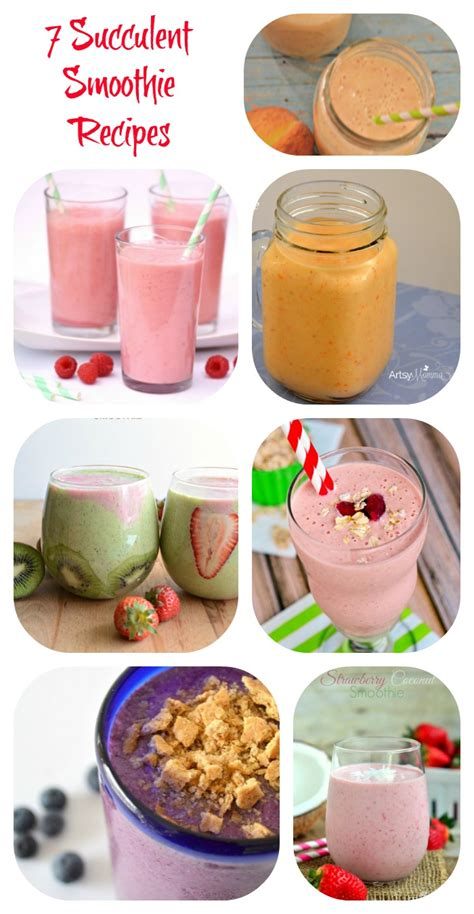 7 Smoothie Recipes by 7 Succulent Smoothies To Try Now Tales Of A Ranting